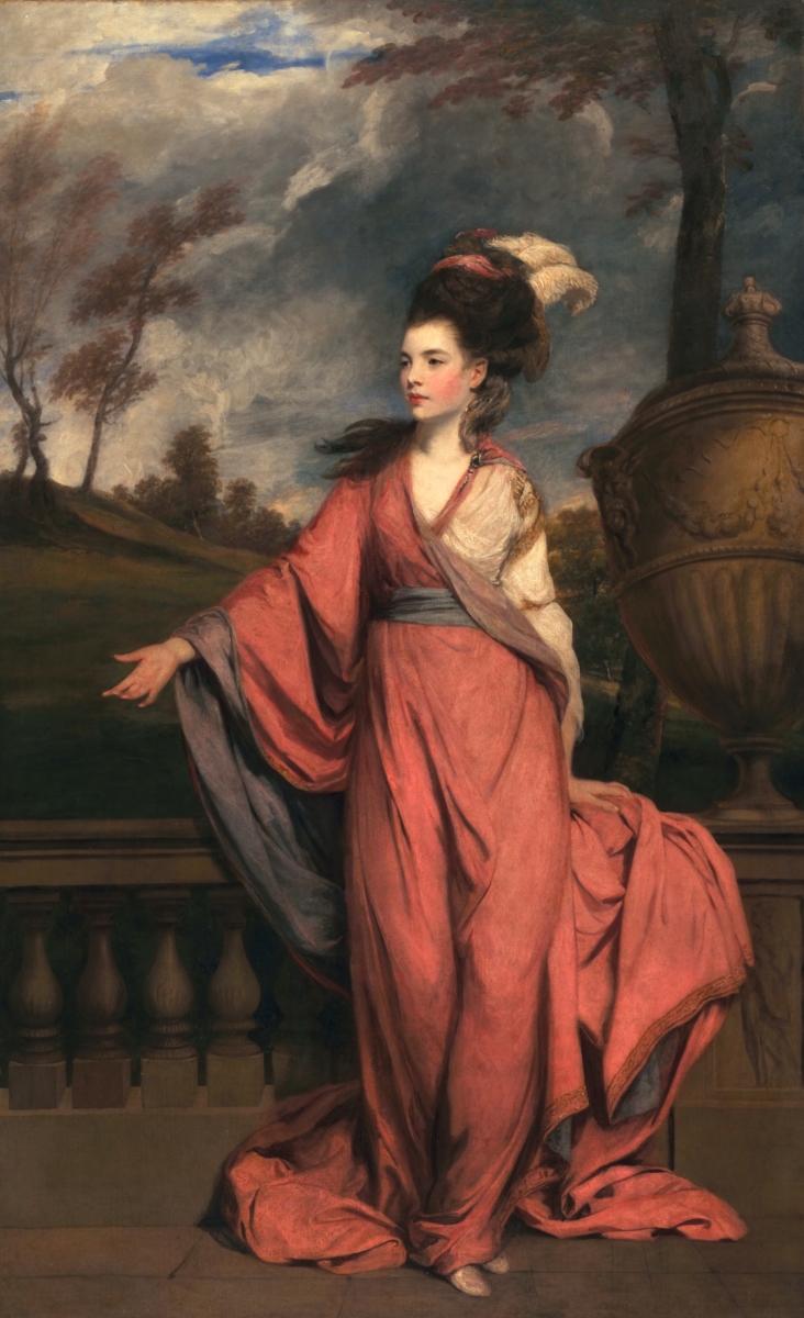 Sir Joshua Reynolds, Jane Fleming, poi contessa di Harrington, 1778–79 circa, San Marino, The Huntington Library, Art Collections and Botanical Gardens