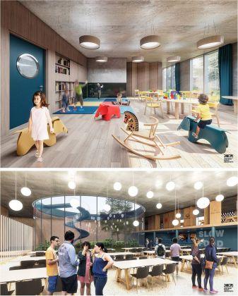 Stefano Boeri Architetti, tre scuole pubbliche a Tirana. Concorso vinto nel febbraio 2018. Courtesy SBA