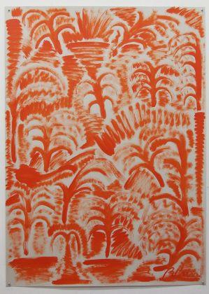 Stefano Pedrini, Palmetino (Orange), 2014. Courtesy the artist
