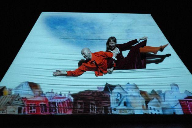 Tam Teatromusica, Anima blu. Teatro Centrale Preneste, Roma. Photo Claudia Fabris