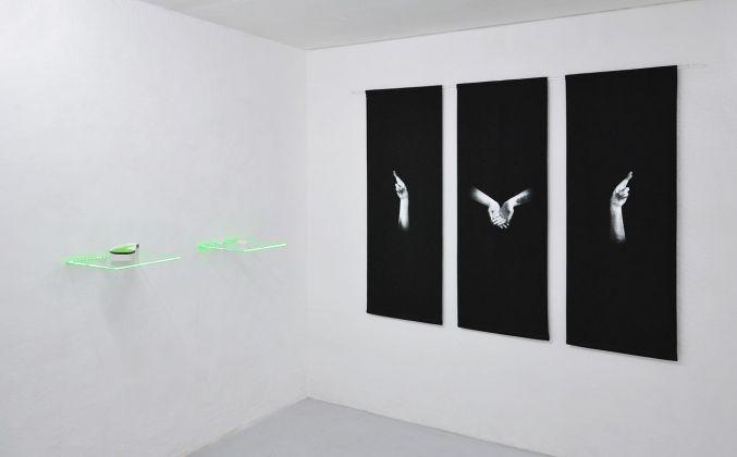 Tania Fiaccadori. Sea Monkeys Cult. Exhibition view at Dimora Artica, Milano 2018