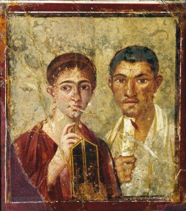 Terentius Neo e la moglie, 55 – 79 d.C., MANN, Napoli