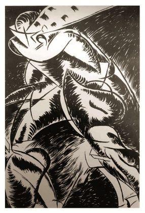 Umberto Boccioni, Dinamismo di un corpo umano, 1913. Roma, collezione privata