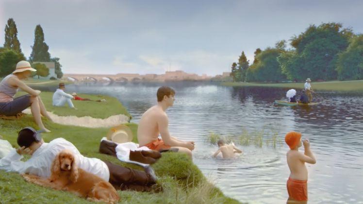Un dipinto di Seurat rivive nello spot Lexus
