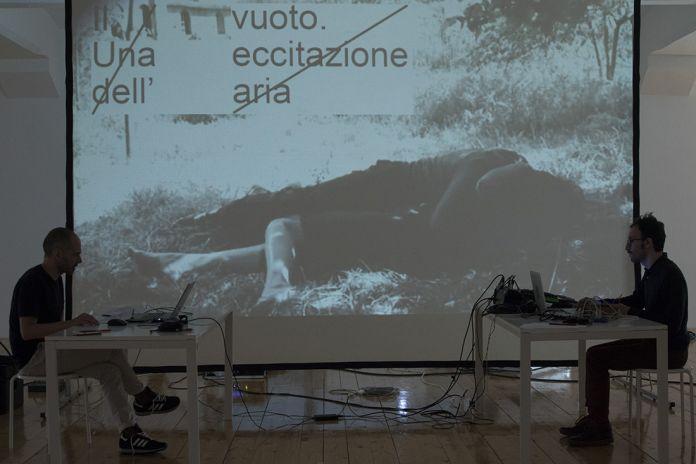 Una comunicazione magnetica con la natura, prove in residenza a Centrale Fies, marzo 2018, photo Roberta Segata