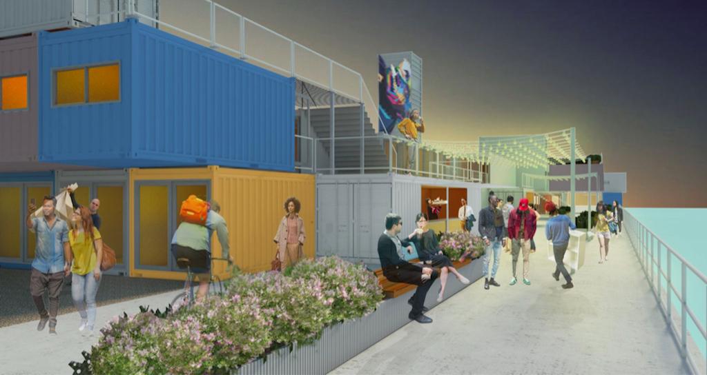 V22 Silvertown Studios, Architect Render, 2017