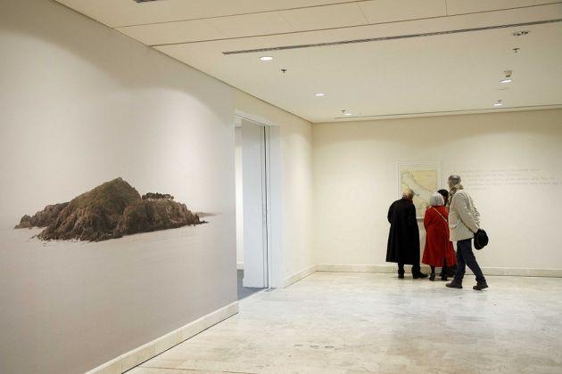 Valentina Vannicola. Eravamo terraferma. Installation view at AuditoriumArte, Roma 2018 ©Fondazione Musica per Roma, photo Musacchio & Ianniello