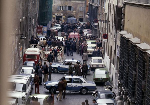 Via Caetani a Roma, 9 maggio 1978