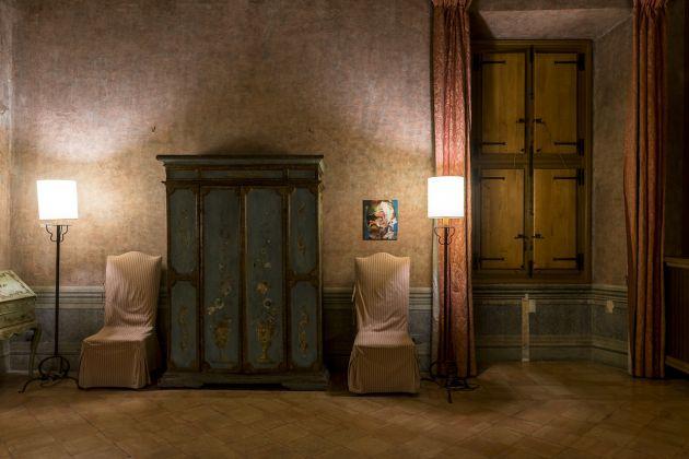 Villa Medici, mostra Adrian Ghenie, foto Sebastiano Luciano