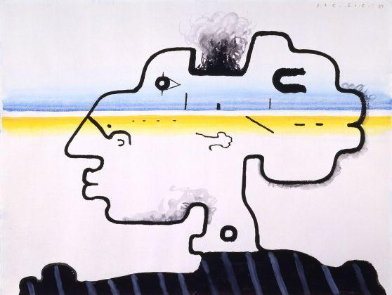 Vladimir Yankilevsky, Portrait of a Young Man, 1984