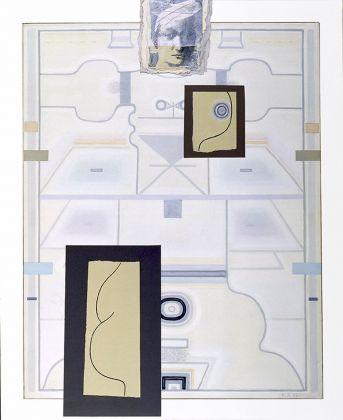Vladimir Yankilevsky, dalla serie Woman by the Sea. Homage to Piero della Francesca. III, 1999