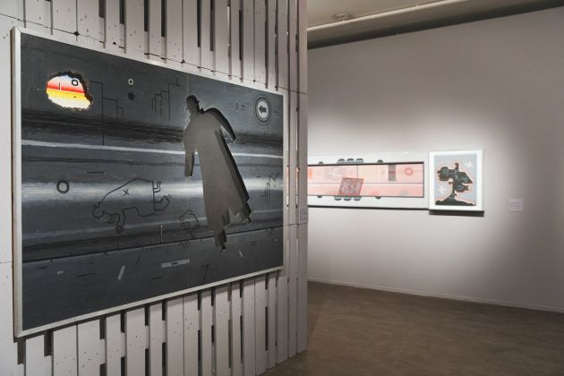 Vladimir Yankilevsky. Mystery of Being. Exhibition view at MMOMA, Mosca 2018