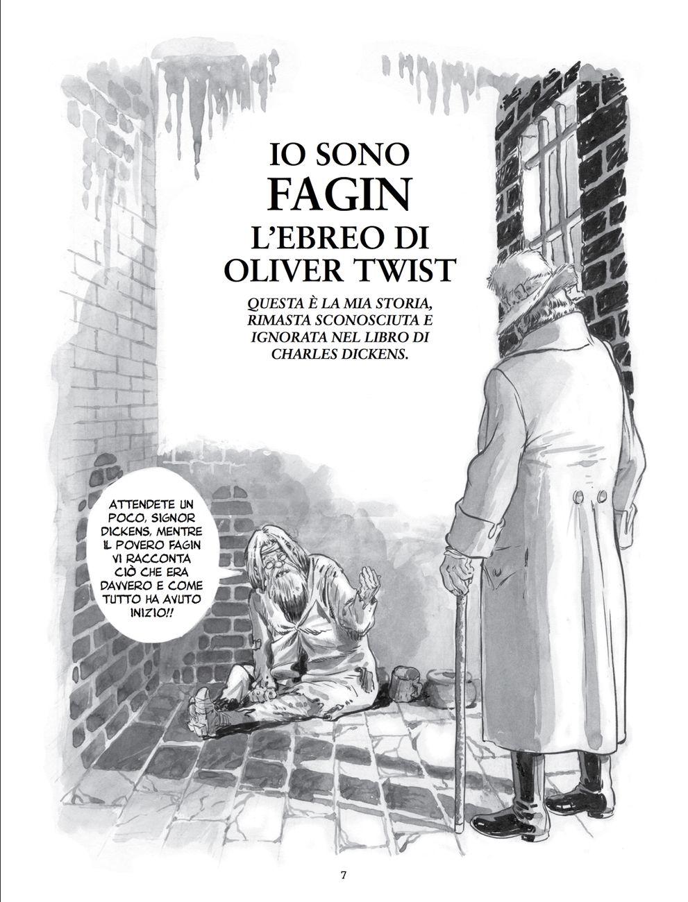 Will Eisner – Fagin l'Ebreo (001 Edizioni, Torino 2018)