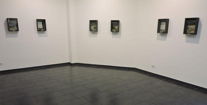 Wolf Vostell. Calatayud. Installation view at Studio d'arte Cannaviello, Milano 2018