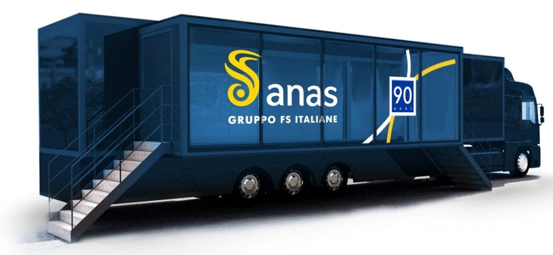 Il truck di Anas