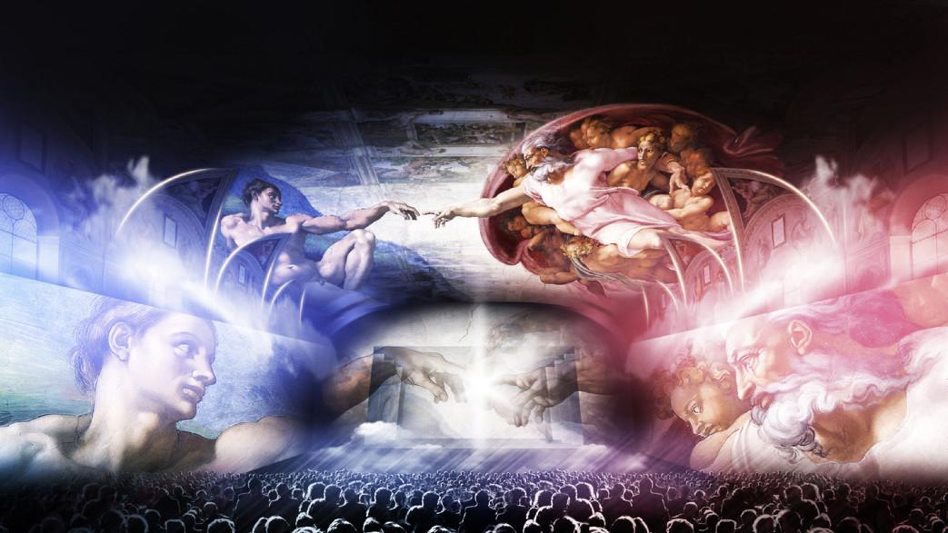 cerca il più recente consistenza netta comprare a buon mercato La Cappella Sistina in uno show a Roma | Artribune