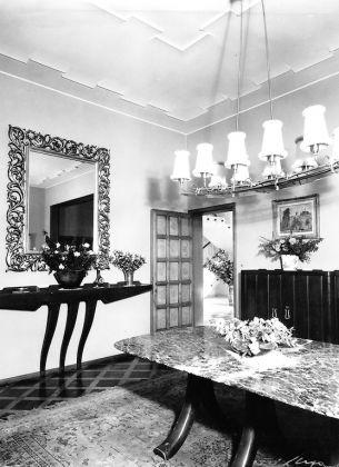 Villa Borsani, Varedo. Servizio fotografico di Elio Luxardo, inizio Anni Cinquanta