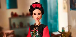 Barbie-Frida Kahlo
