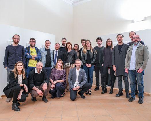 Alcuni artisti finalisti e la giuria di ARTIFACT PRIZE 2018.