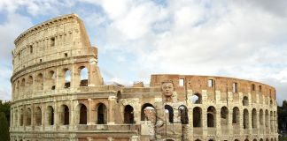 Liu Bolin, Colosseo No.2