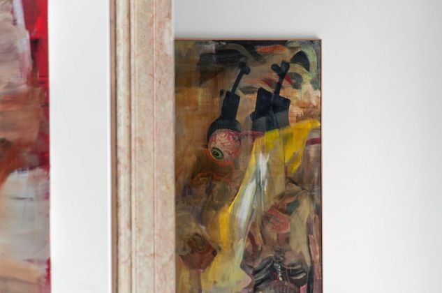 Albert Oehlen, FN 33, 1990 (dettaglio). Installation view at Palazzo Grassi, Venezia 2018. Photo Irene Fanizza