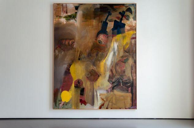Albert Oehlen, FN 33, 1990. Installation view at Palazzo Grassi, Venezia 2018. Photo Irene Fanizza