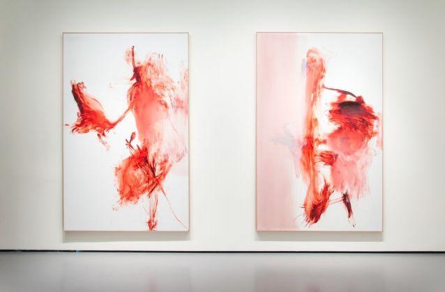 Albert Oehlen, H.A.T. I VI, 2009. Installation view at Palazzo Grassi, Venezia 2018. Photo Irene Fanizza