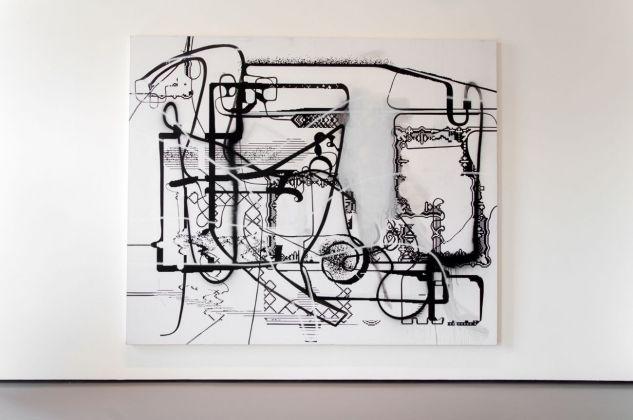 Albert Oehlen, Senza titolo, 1988. Installation view at Palazzo Grassi, Venezia 2018. Photo Irene Fanizza