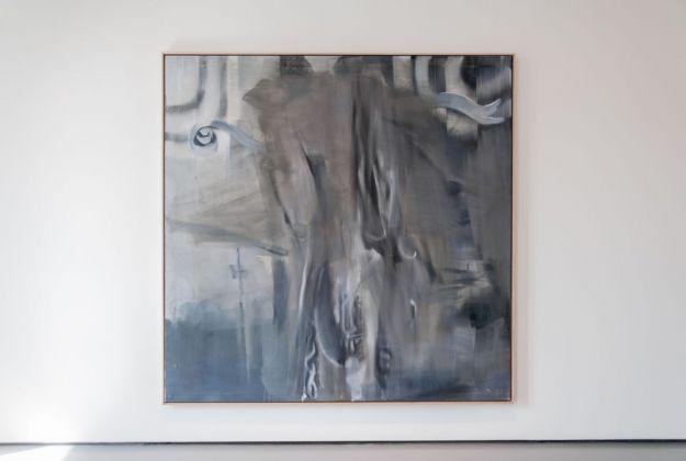 Albert Oehlen, Studente III, 1999. Installation view at Palazzo Grassi, Venezia 2018. Photo Irene Fanizza