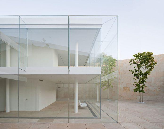 Alberto Campo Baeza, Office in Zamora, 2012 © Javier Callejas
