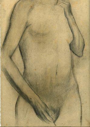 Alberto Ziveri, nudo, matita su carta, 1927-29