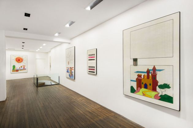 Aldo Mondino. Quadrettature e non solo 1963-1972. Exhibition view at Galleria Il Ponte, Firenze 2018