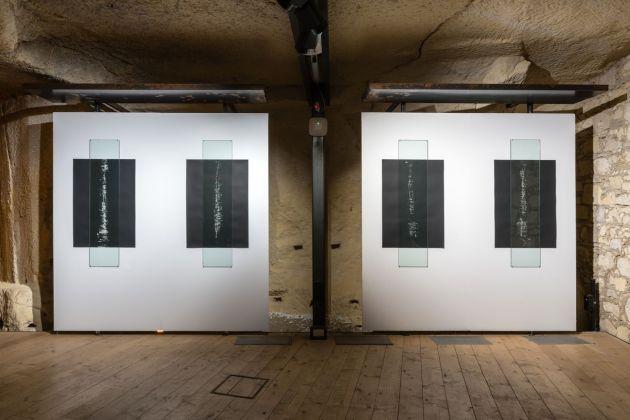 Alessandro Biggio, Monotipi 1 5, 2018. CarteC Cava Arte Contemporanea, Cagliari. Courtesy Musei Civici di Cagliari