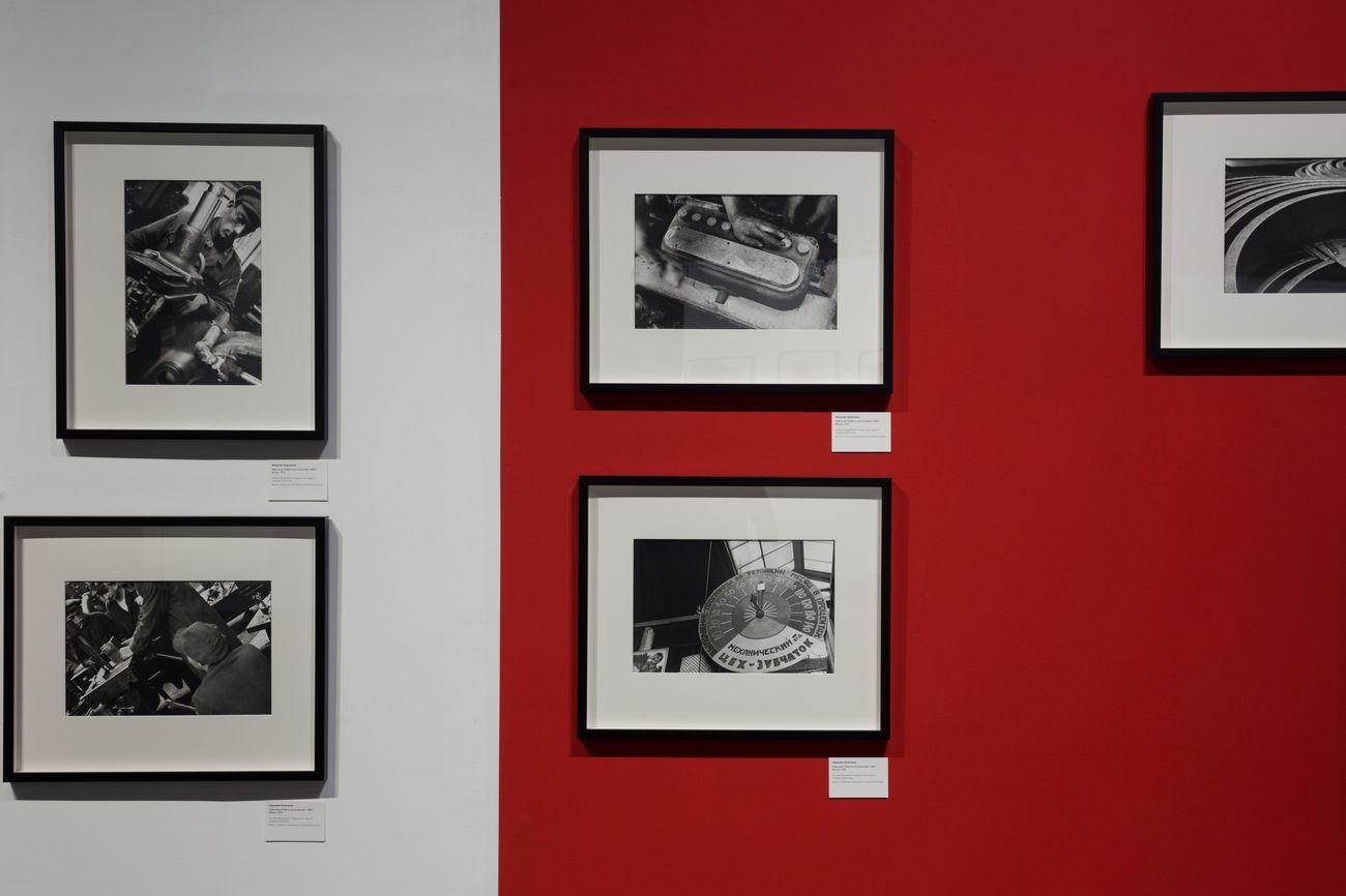 Alexander Rodchenko. Revolution in photography. Exhibition view at Palazzo Te, Mantova 2018