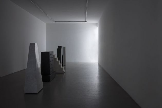 Alice Ronchi. Majestic Solitude. Installation view at Francesca Minini, Milano 2018. Photo Agostino Osio