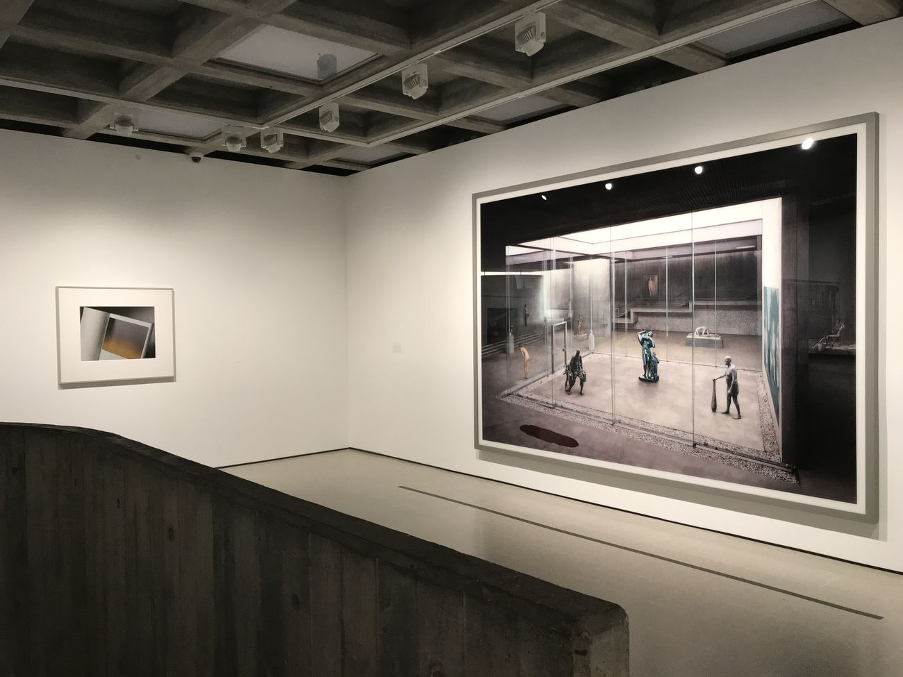 Andreas Gursky. Exhibition view at Hayward Gallery, Londra 2018