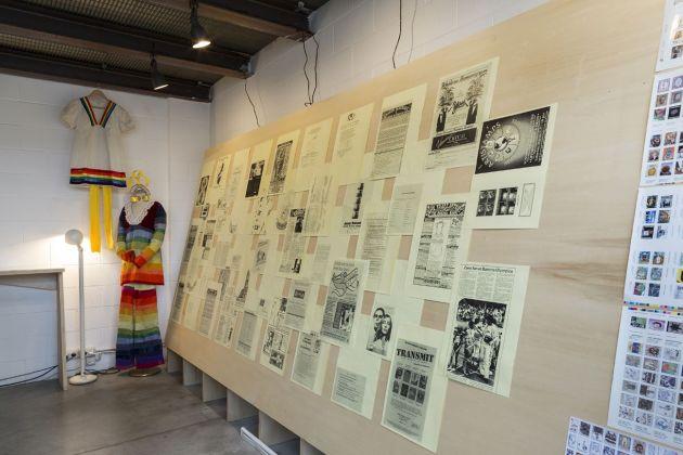 Anna Banana. Exhibition view at Kunstverein Milano, 2018. Photo n TT n