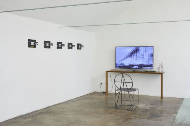 Anne et Patrick Poirier. Architectures des Mémoires. Exhibition view at Studio AR.CH.IT Luca Cipelletti, Milano 2018. Photo © Henrik Blomqvist
