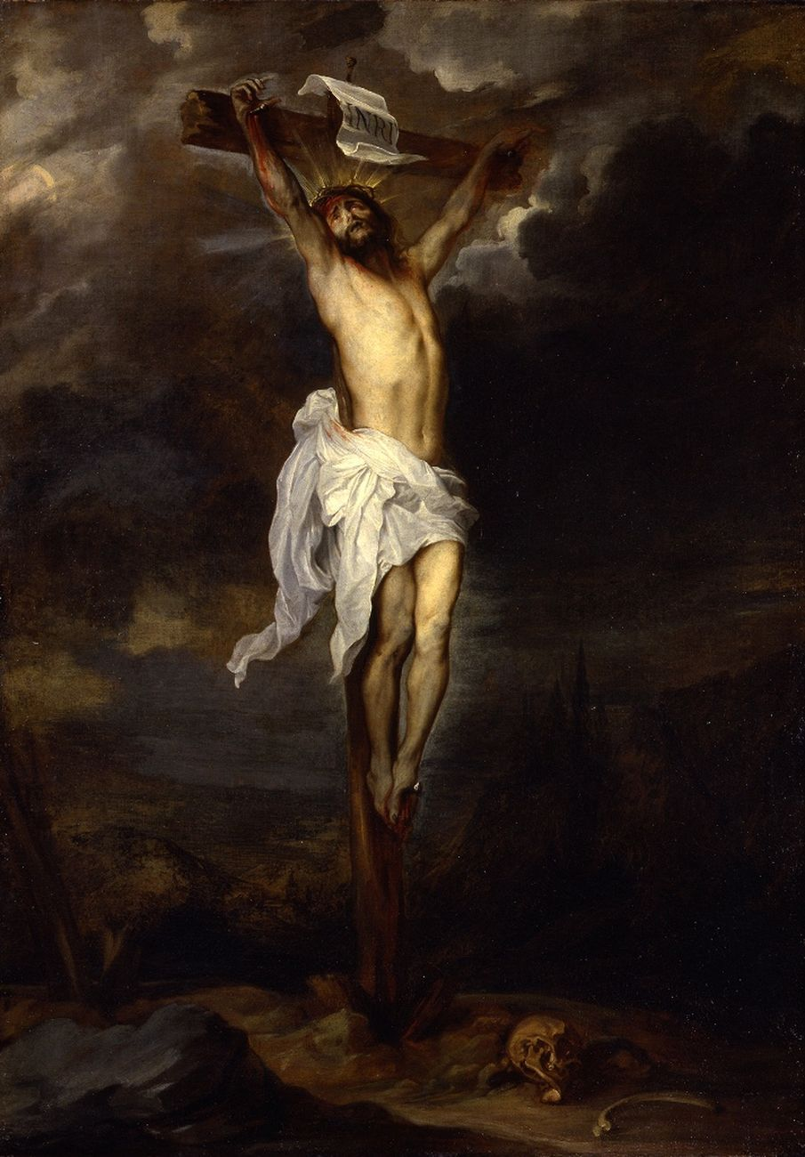 Anton van Dyck, Crocifisso, 1627 ca. Genova, Museo di Palazzo Reale