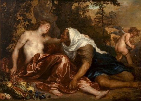 Anton van Dyck e collaboratore, Vertumno e Pomona, 1628 30 ca. Genova, Musei di Strada Nuova, Palazzo Bianco