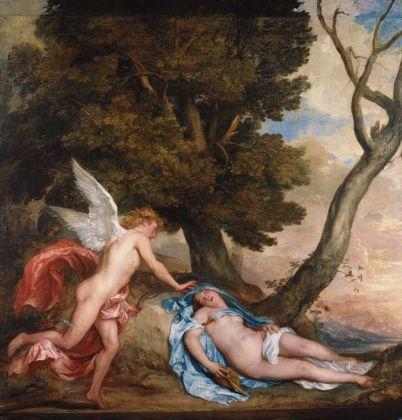 Antoon van Dyck, Cupido e Psiche, 1639-40. Hampton Court, Royal Collection