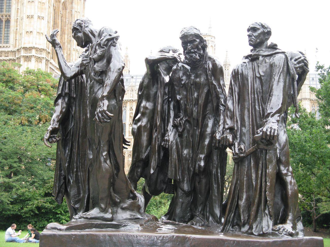 Auguste Rodin, Les Bourgeois de Calais, 1895