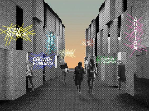 Calvi Brambilla, Triennale Design Museum 11, render dell'allestimento. Courtesy Calvi Brambilla