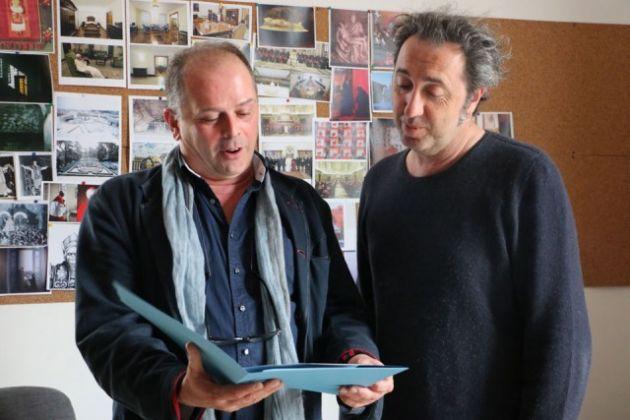 Carlo Poggioli e Paolo Sorrentino