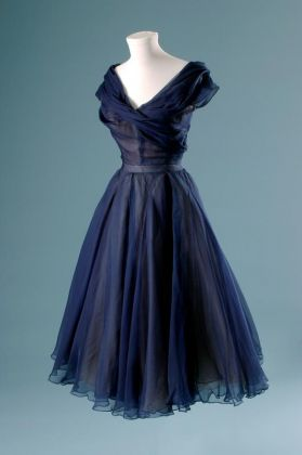 Christian Dior, Dress, 1950, Fashion Institute of Technology, New York