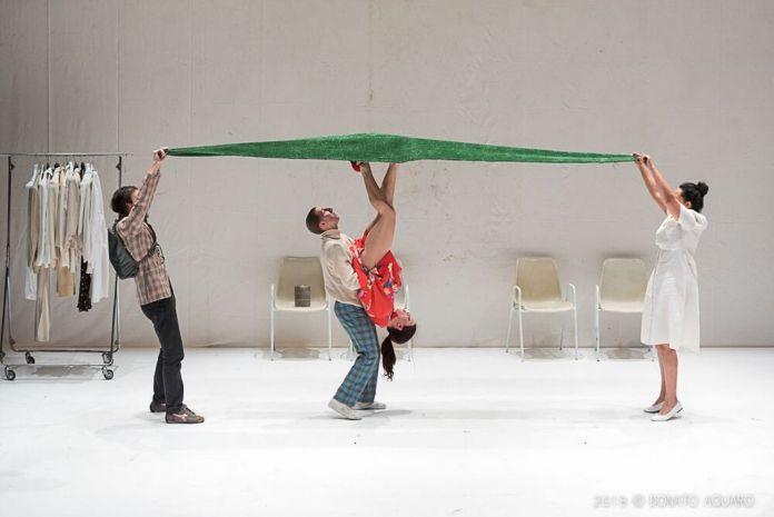 Compagnia Balletto Civile, Badlambs. Photo Donato Aquaro