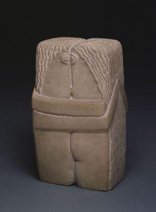 Constantin Brancusi, Il bacio, 1916. Philadelphia Museum of Art, Collezione Louise e Walter Arensberg, 1950