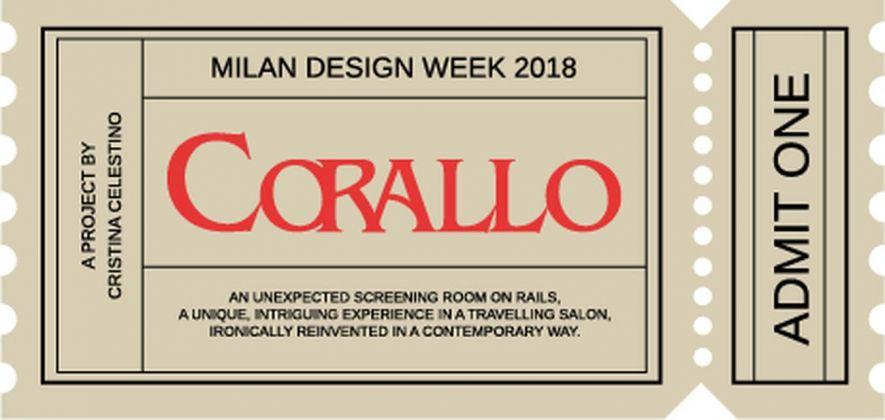 Corallo, il biglietto