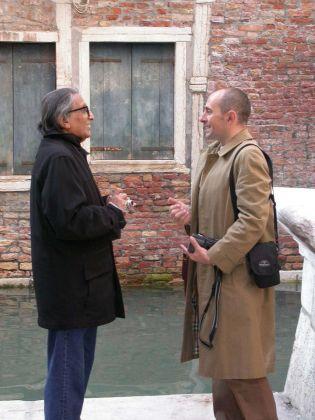 Doshi e Giovanni Leone, Venezia, ottobre 2005