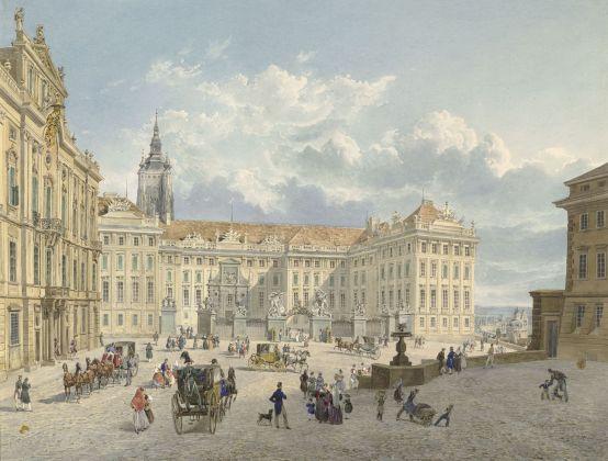 Eduard Gurk, Hradčany, Praga, 1838. Albertina Museum, Vienna